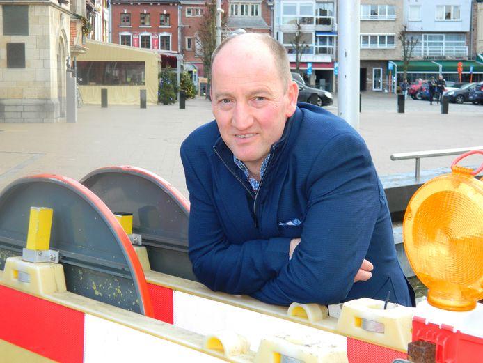 Burgemeester Luc Vandevelde.