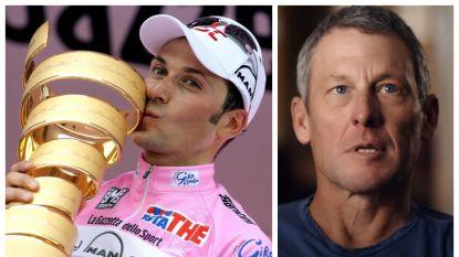 """Ivan Basso gooit Armstrong, ondanks kritiek, een bloemetje: """"Hij had zonder doping ook altijd en overal gewonnen"""""""