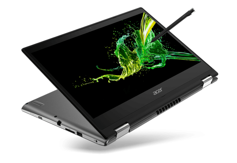 Acers Spin 3-model, de recentste versie van een van de sterkhouders in het 'convertible'-segment.