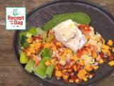 Recept van de dag: Kabeljauw met orzo en mangosalsa