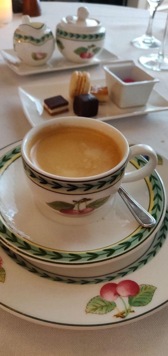 Zondagsmenu De Marmiet: afsluiten met een koffie