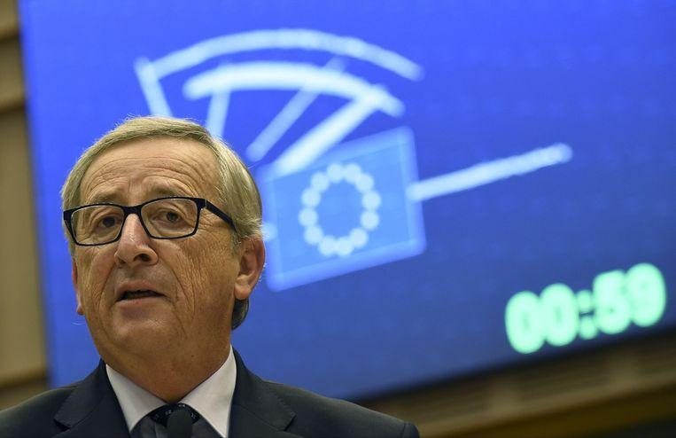 Nieuwe voorzitter van de Europese Commissie Jean-Claude Juncker. Beeld belga