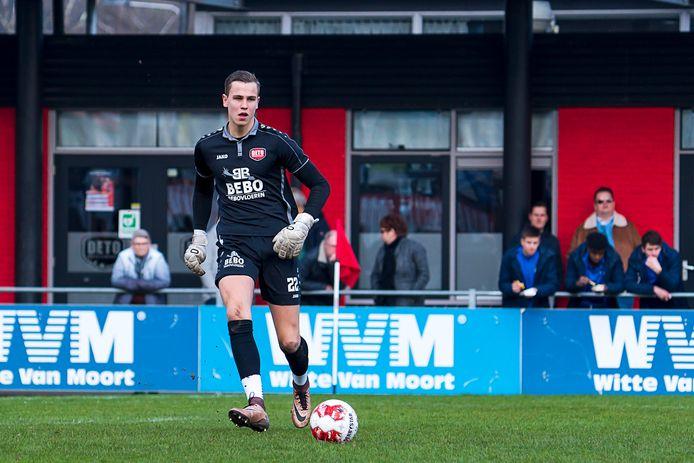 DETO-keeper Anthony van Zaltbommel.