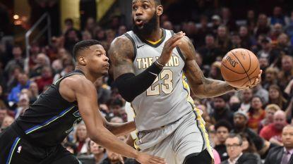Portland heeft ticket voor play-offs beet, LeBron goed voor zeventiende triple double dit seizoen voor Cleveland