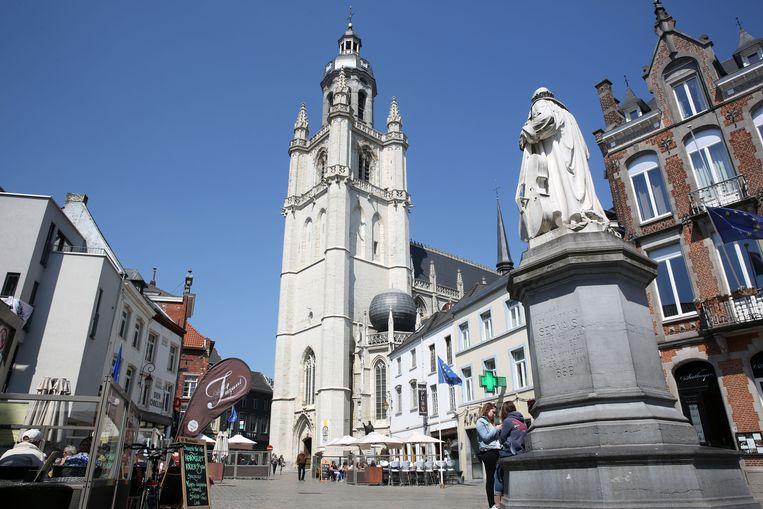De Sint-Martinusbasiliek in Halle werd 21 jaar lang gerestaureerd, gelukkig zonder grote incidenten.