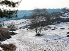 Wegen op Posbank na periode van gladheid weer open voor verkeer