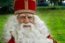 Bram van der Vlugt als Sinterklaas.