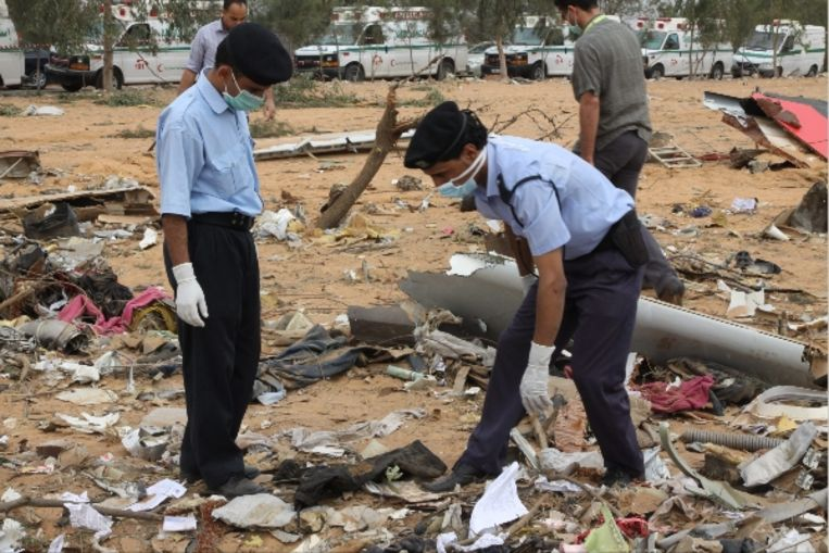 103 mensen kwamen om bij de ramp. (EPA) Beeld EPA