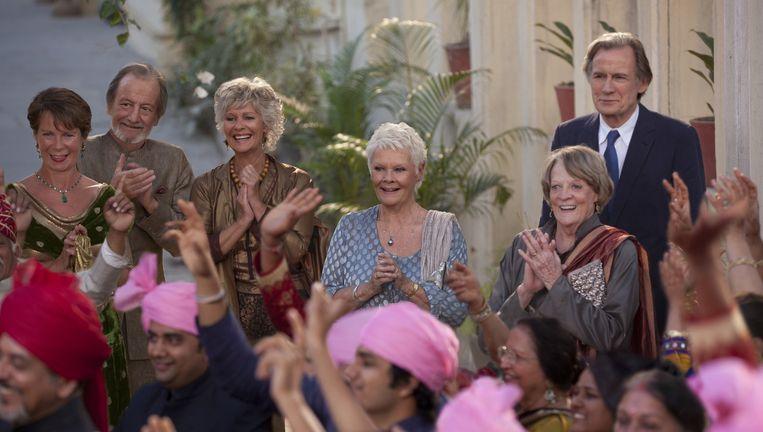 Scène uit The Second Beste Exotic Marigold Hotel. Beeld Twentieth Century Fox