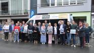 Lokale zelfstandigen schenken minibusje aan Krekenland