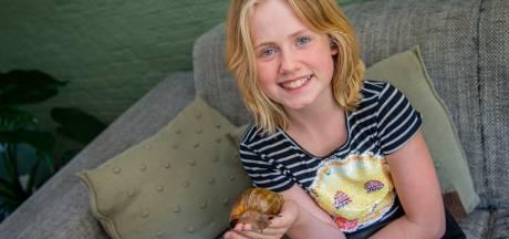 Lotte's slak Beertje heeft ogen op reuzensteeltjes: 'Ik vind hem zo lief'
