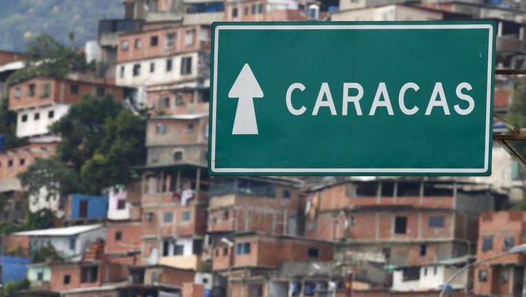 Bord naar Caracas. Beeld null