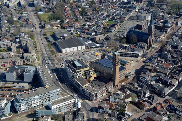 Veel nieuwe woningen worden toegevoegd aan de binnenstad.