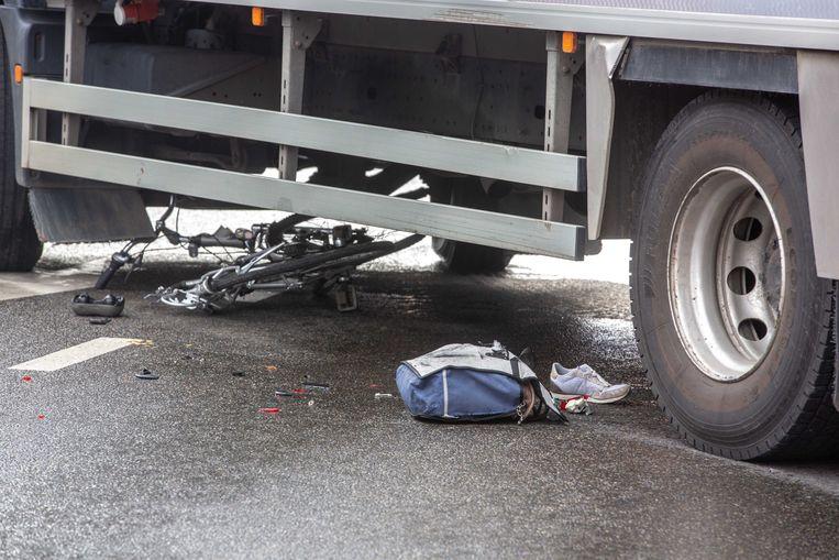 Het aantal letselongevallen waarbij een vrachtwagen betrokken was daalde met 31,9 procent. Fietsers en voetgangers blijven kwetsbaar op wegen in Vlaams-Brabant.