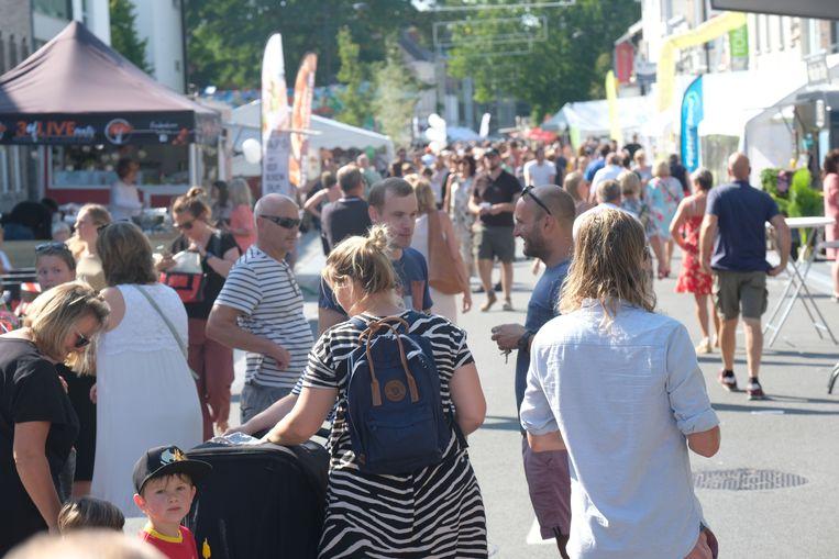 De ZomerEnd Feesten lokten dit jaar tot 15.000 bezoekers per dag.