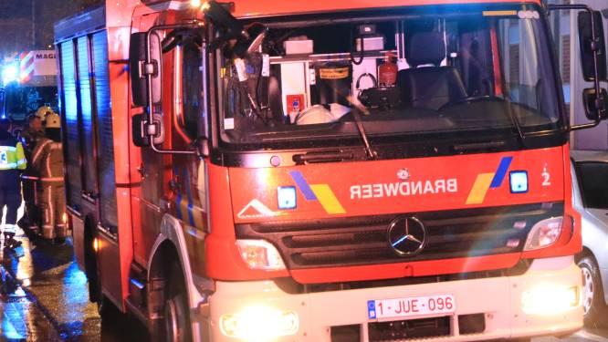 Mazoutketel in Stationsstraat vat vuur