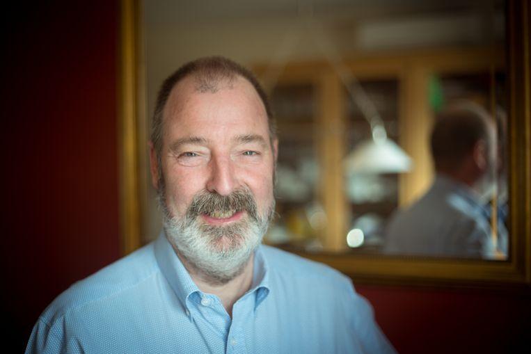 Martin van der Sman, één van de bestuursleden van Hands Out.