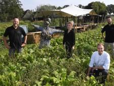 Gar-dining: In moestuin eten van eigen boerderij