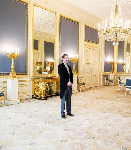 Bas van 't Wout uit Hoeven voor tweede keer in half jaar tijd door de koning beëdigd