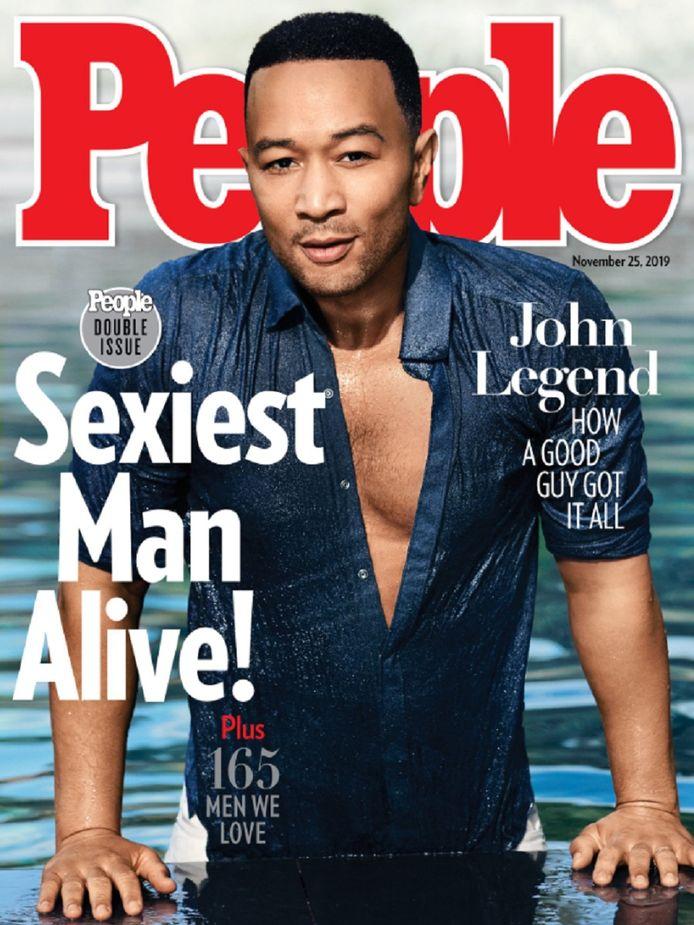John Legend a été élu l'homme le plus sexy du monde.
