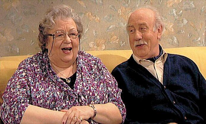 Ann Petersen en Oswald Maes speelden Florke en Roger in 'Thuis'. De speciale aflevering naar aanleiding van het overlijden van Ann werd door de Eén-kijker uitgeroepen tot de beste van de reeks.