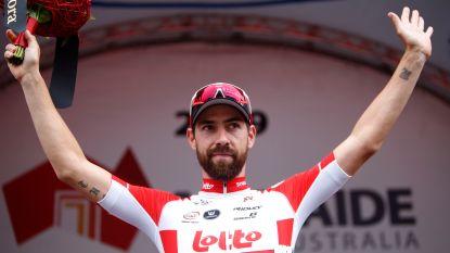 Geen ritwinst, wel prijs van de strijdlust voor De Gendt in vierde rit Tour Down Under