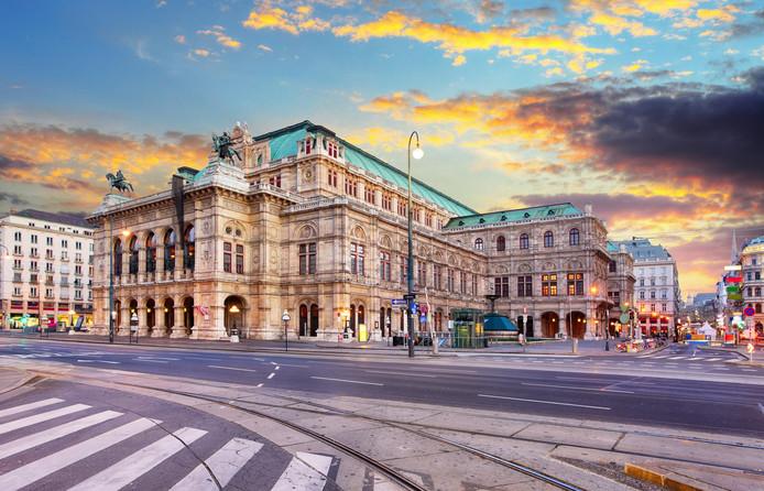 L'opéra de Vienne.