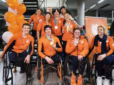 Paralympiërs weer terug in Nederland