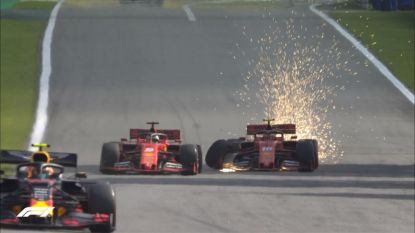 Hoezo de Formule 1 is saai? Ferrari's rijden elkaar van de baan in GP Brazilië, solide Verstappen wint duel met Hamilton