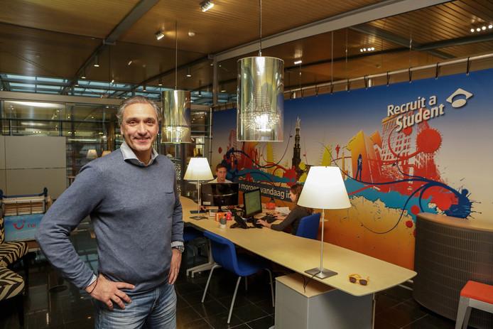 Robert Maaskant, van eredivisietrainer tot ondernemer bij uitzendbureau Recruit a Student.