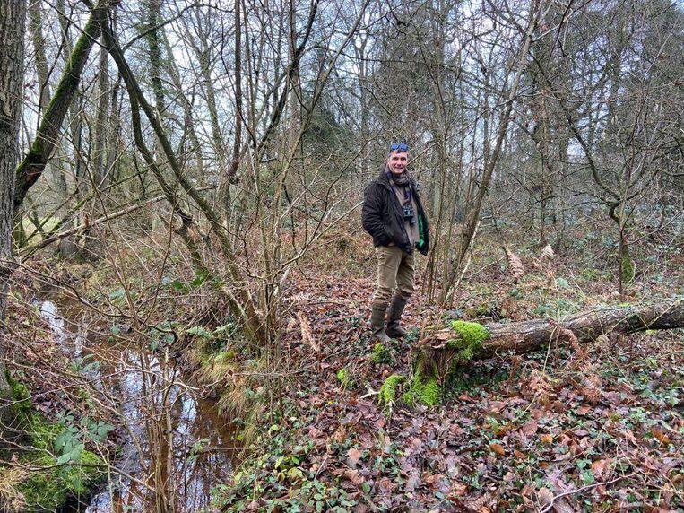 De natuurwandeling van 5 januari wordt begeleid door gids Gert De Wolf.