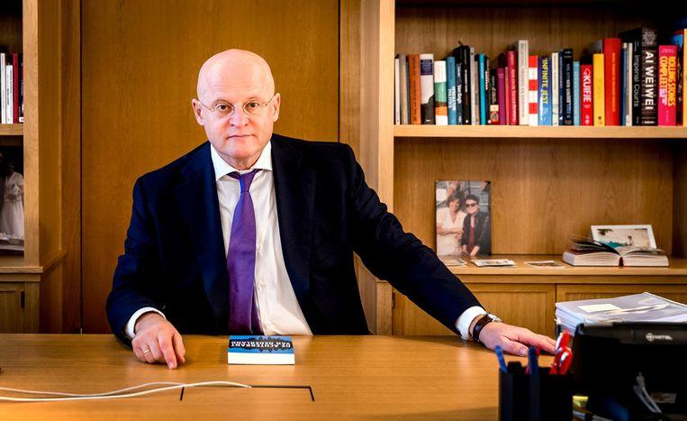 Grapperhaus gebruikt het oordeel van president van het gerechtshof Leendert Verheij in de ontslagzaak tegen Aachboun bij de kantonrechter. Beeld anp
