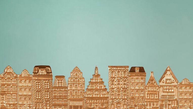 Beleggers drijven de huizenprijzen op. Beeld Linda Jansen