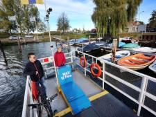 Meer passagiers voor het Markpontje in Terheijden: 'Het aantal toeristen stijgt'