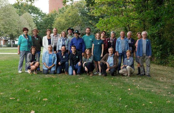 De ploeg van Groen Westerlo.