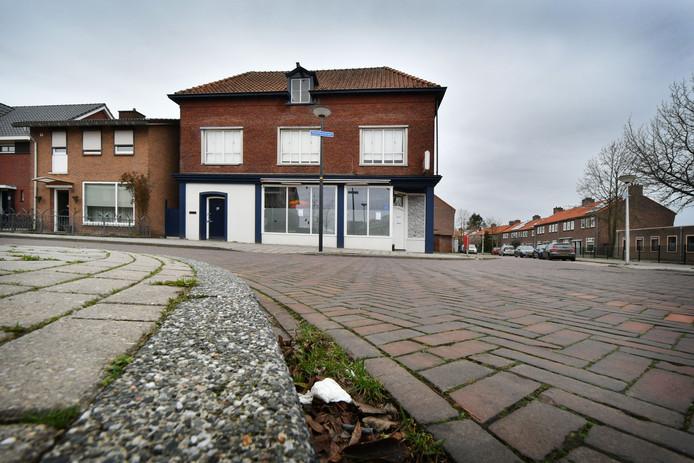 Het pand aan de Van Leeuwenhoekstraat.