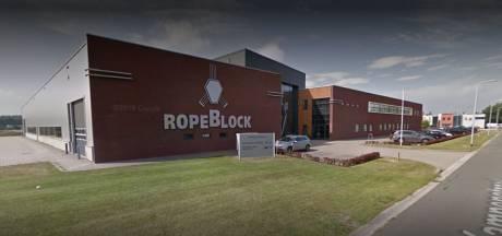 'Negentien ontslagen bij Ropeblock in Oldenzaal'