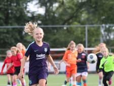Tess Brinkhuis (10) droomt van het grote Oranje