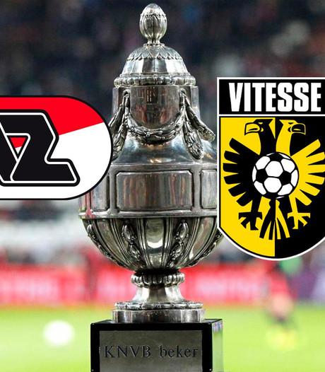 Vitesse jaagt in bekerfinale met AZ op eerste hoofdprijs
