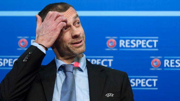 UEFA-voorzitter Ceferin.