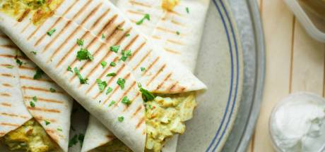 Wat Eten We Vandaag: Wraps met eiersalade