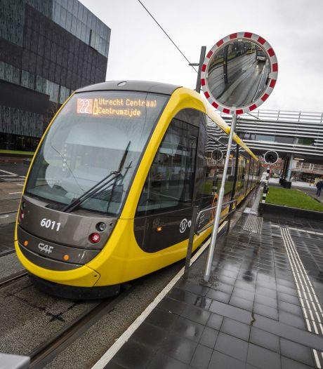 Trambaan Uithoflijn slijt door bussen sneller dan gedacht