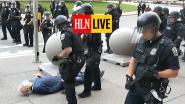 HLN LIVE. Amerikaanse agenten geschorst na omver duwen bejaarde man