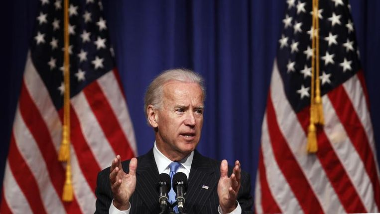 De Amerikaanse vicepresident Joe Biden. Beeld reuters
