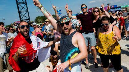 Record: Rode Kruis moet meer dan 2.000 festivalgangers verzorgen op dag 2 Rock Werchter