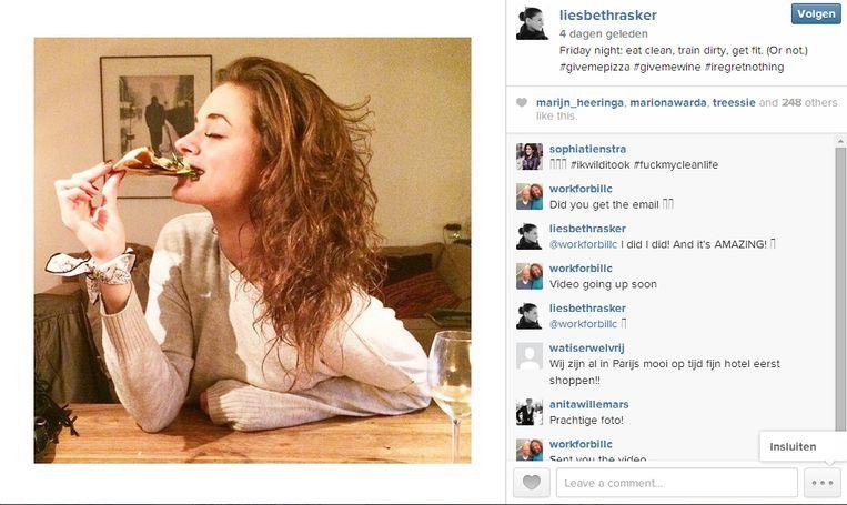 null Beeld Instagram Liesbeth Rasker