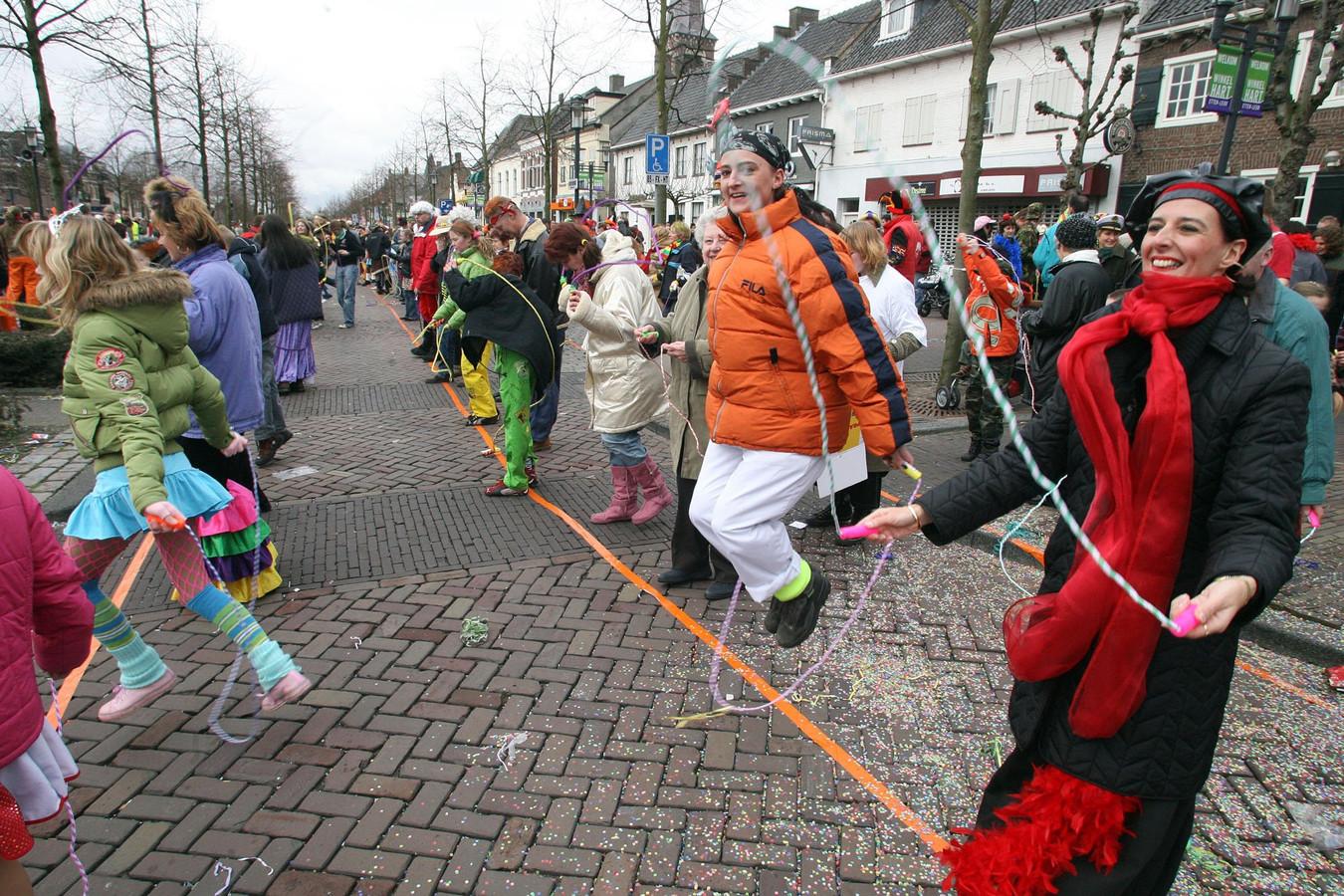 2006: wereldrecordpoging touwtjespringen
