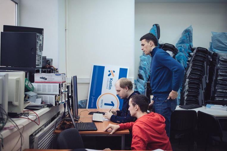 De instelling won in de afgelopen twaalf jaar zes keer het ICPC, het wereldkampioenschap programmeren voor universiteiten. Beeld Max Avdeev