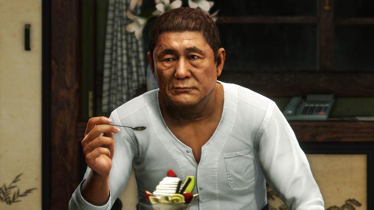 Een gastrol voor Takeshi Kitano. Beeld null