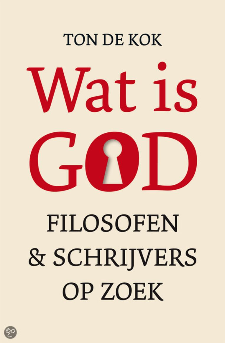 Omslag van het boek 'Wat is God'. Beeld
